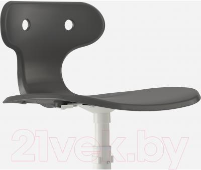 Стул офисный Ikea Мольте 202.927.76 (серый) - вид спереди