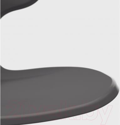 Стул офисный Ikea Мольте 202.927.76 (серый) - пластиковое сиденье