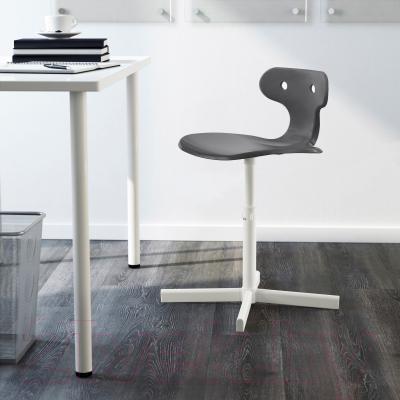 Стул офисный Ikea Мольте 202.927.76 (серый) - в интерьере