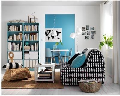 Журнальный столик Ikea Тингби 202.959.30 (белый)