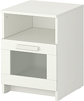 Прикроватная тумба Ikea Бримнэс 102.349.42 (белый) -