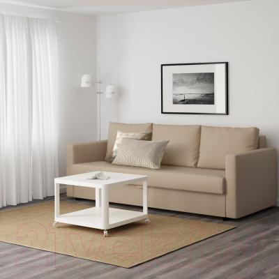 Диван-кровать Ikea Фрихетэн 203.014.55 (Шифтебу бежевый) - в интерьере