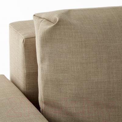 Диван-кровать Ikea Фрихетэн 203.014.55 (Шифтебу бежевый)