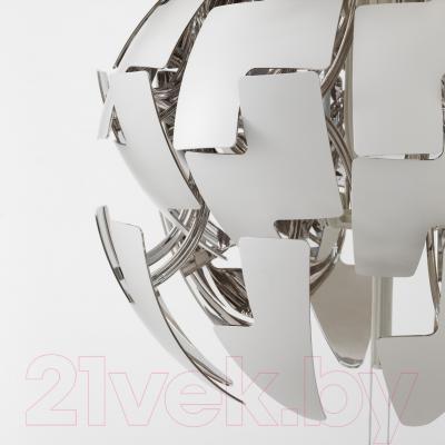 Светильник Ikea Икеа ПС 2014 203.049.01 (белый/серебристый)