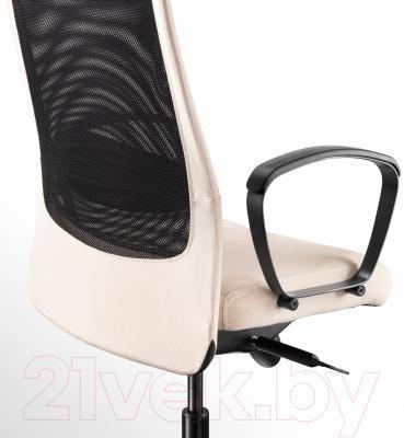 Кресло офисное Ikea Маркус 203.097.29 (бежевый) - вид сзади