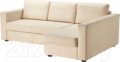 Угловой диван-кровать Ikea Монстад 203.265.83 (бежевый)