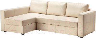 Угловой диван-кровать Ikea Монстад 203.265.83 (бежевый) - угол можно поменять при сборке