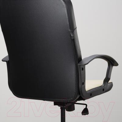 Кресло офисное Ikea Торкель 203.372.99 (бежевый) - вид сзади
