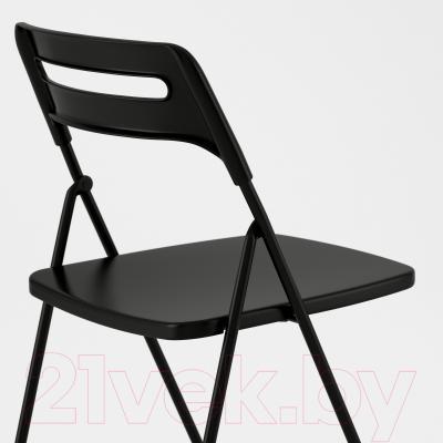 Стул Ikea Ниссе 301.150.66 (черный)