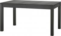 Обеденный стол Ikea Бьюрста 301.162.64 (коричнево-черный) -