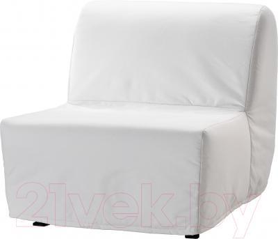 Чехол на кресло-кровать Ikea Ликселе 301.195.40 (белый)
