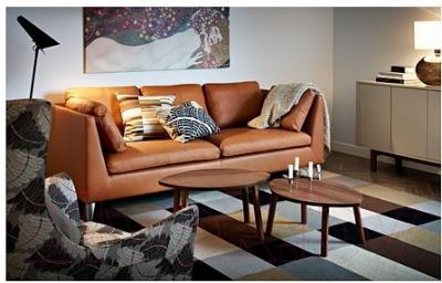 Журнальный столик Ikea Стокгольм 102.397.13 (2шт)