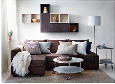 Журнальный столик Ikea Стринд 301.571.03 (белый, никелированный)