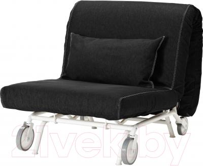 Чехол на кресло-кровать Ikea ПС 301.848.04 (черный)