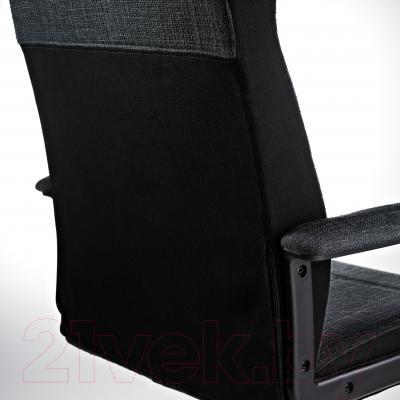 Кресло офисное Ikea Малькольм 301.968.02 - вид сзади