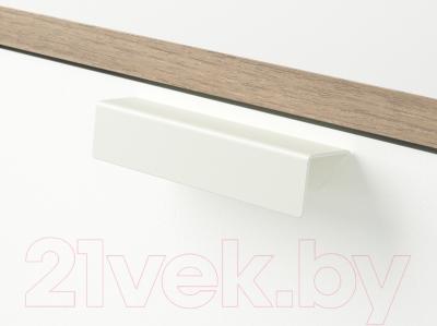 Прикроватная тумба Ikea Трисил 302.360.25 (белый/светло-серый)