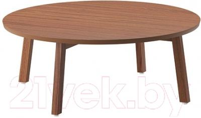 Журнальный столик Ikea Стокгольм 302.397.12 (шпон грецкого ореха)