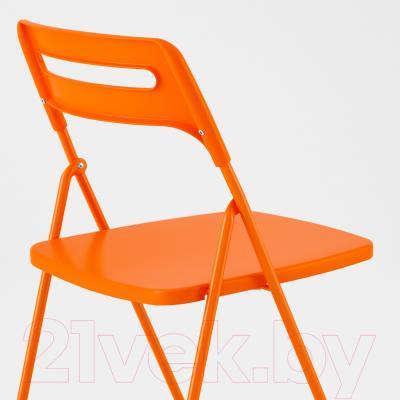Стул Ikea Ниссе 302.462.08 (оранжевый )