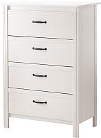 Комод Ikea Брусали 302.527.46 (белый) -