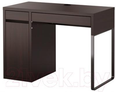 Письменный стол Ikea Микке 102.447.43 (черно-коричневый)