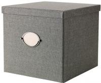 Ящик для хранения Ikea Кварнвик 302.566.69 (серый) -