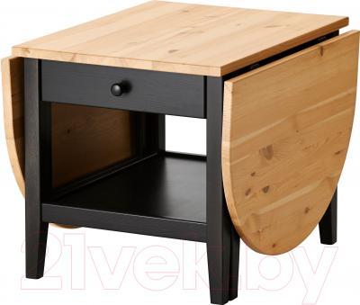 Журнальный столик Ikea Аркельсторп 302.608.07 (черный)