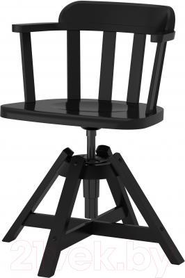 Стул офисный Ikea Феодор 302.625.28 (черный)