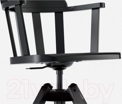 Стул офисный Ikea Феодор 302.625.28 (черный) - вид спереди