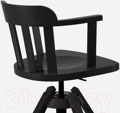 Стул офисный Ikea Феодор 302.625.28 (черный) - вид сзади