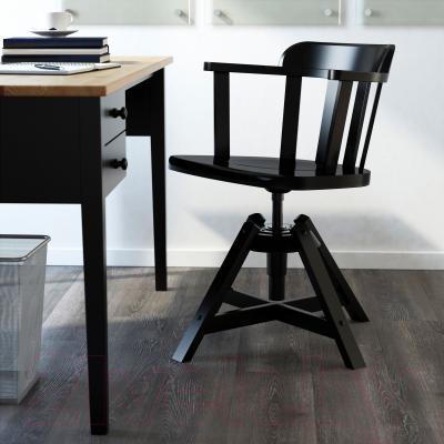 Стул офисный Ikea Феодор 302.625.28 (черный) - в интерьере
