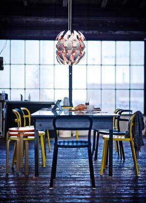 Светильник Ikea Икеа ПС 2014 302.798.83 (белый/оранжевый)