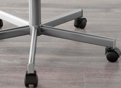 Кресло офисное Ikea Скрувста 302.800.04 (серый) - колесики автоматически блокируются, когда стул не используется