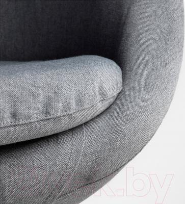 Кресло офисное Ikea Скрувста 302.800.04 (серый) - обивка из ткани