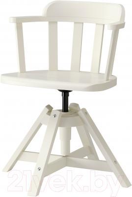 Стул офисный Ikea Феодор 302.882.36 (белый)