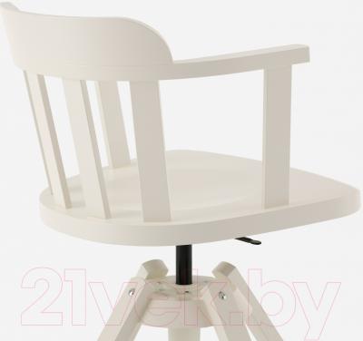 Стул офисный Ikea Феодор 302.882.36 (белый) - вид сзади