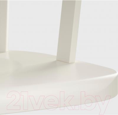 Стул офисный Ikea Феодор 302.882.36 (белый) - сиденье из массива березы