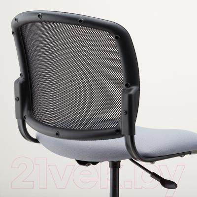 Кресло офисное Ikea Севальд 302.940.96 (черный/серый) - вид сзади