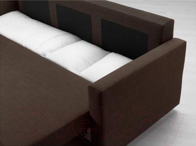 Диван-кровать Ikea Фрихетэн 303.006.91 (Шифтебу коричневый) - ящик для хранения белья