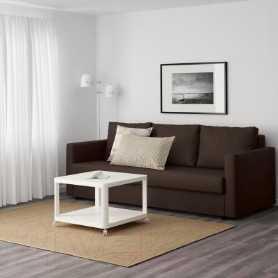 Диван-кровать Ikea Фрихетэн 303.006.91 (Шифтебу коричневый) - в интерьере
