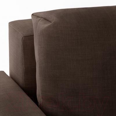 Диван-кровать Ikea Фрихетэн 303.006.91 (Шифтебу коричневый)