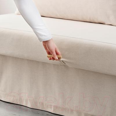 """Диван-кровать Ikea Химмэне 303.007.14 (бежевый) - механизм трансформации """"еврокнижка"""""""