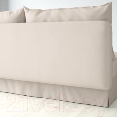 Диван-кровать Ikea Химмэне 303.007.14 (бежевый) - вид сзади