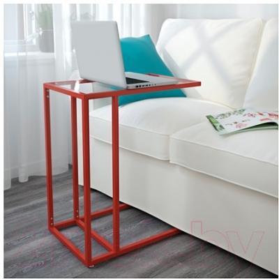 Приставной стол Ikea Витшё 303.064.76 - в интерьере
