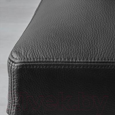 Стул Ikea Хенриксдаль 303.096.77 (коричнево-черный/черный)