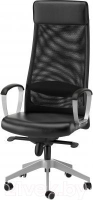 Кресло офисное Ikea Маркус 401.031.00 (черный)