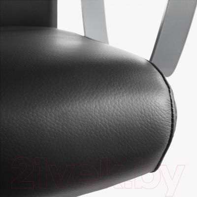 Кресло офисное Ikea Маркус 401.031.00 (черный) - обивка из искусственной кожи