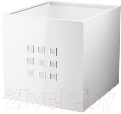 Ящик для хранения Ikea Лекман 102.471.38 (белый)