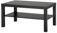 Журнальный столик Ikea Лакк 401.042.94 (черно-коричневый) -