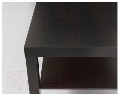 Журнальный столик Ikea Лакк 401.042.94 (черно-коричневый)