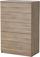 Комод Ikea Тодален 102.558.40 (серо-коричневый) -